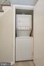 Washer and dryer in unit - 104-B N BEDFORD ST, ARLINGTON