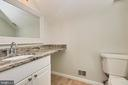 Stunning remodeled primary bath - 104-B N BEDFORD ST, ARLINGTON