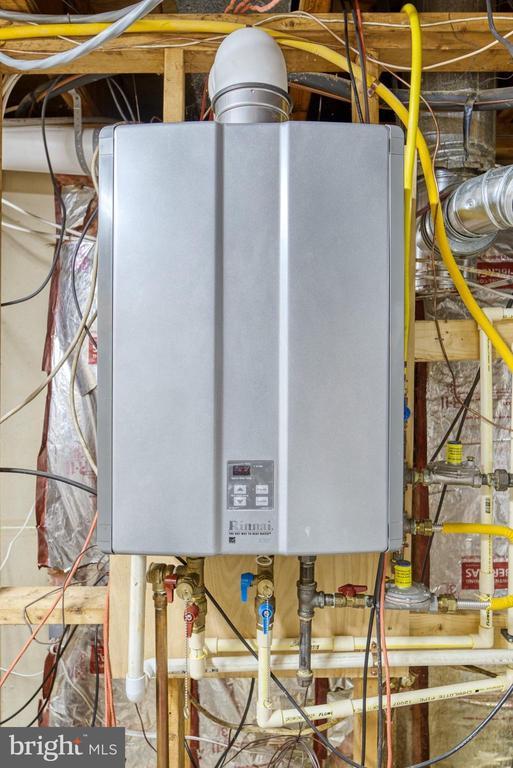 Rinnai Tankless Hot Water System - 2645 BLACK FIR CT, RESTON