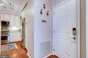 Garage entrance of the kitchen - 1206 WOODBROOK CT, RESTON
