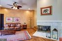 Step down to cozy family room. - 1206 WOODBROOK CT, RESTON