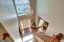 Open foyer with large window for sun filled rooms. - 1206 WOODBROOK CT, RESTON