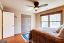 Large windows in 2nd bedroom. - 1206 WOODBROOK CT, RESTON