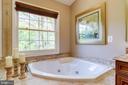 Oversized soaking tub. - 1206 WOODBROOK CT, RESTON