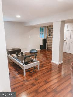 Large Lower Level Studio and Laundry Area - 9341 COLUMBIA BLVD, SILVER SPRING