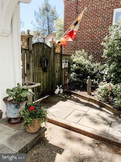 Side Gate to Backyard - 9341 COLUMBIA BLVD, SILVER SPRING