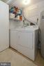 Lower Level Laundry Room - 2917 S WOODSTOCK ST #A, ARLINGTON