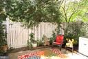 Private, Fenced Patio - 2917 S WOODSTOCK ST #A, ARLINGTON