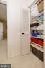 Upper Level Linen Closet in Hallway - 2917 S WOODSTOCK ST #A, ARLINGTON