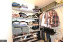 Owner's suite His Walk-in Closet - 42286 KNOTTY OAK TER, BRAMBLETON