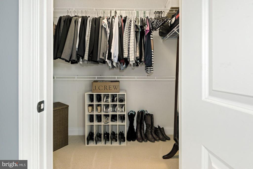 owners closet - 24177 STATESBORO PL, ASHBURN