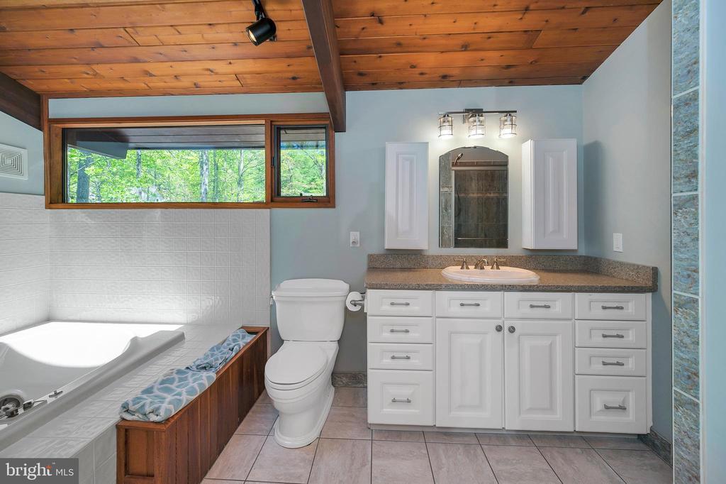 Luxurious en-suite bath - 300 MT PLEASANT DR, LOCUST GROVE