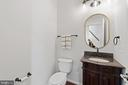 Main Level Powder Room - 42838 DOBSON CT, BROADLANDS