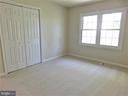 Bedroom 2: Newer carpet/windows w/wall closet - 12520 BROWNS FERRY RD, HERNDON