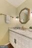 Powder room off Foyer - 10700 HAMPTON RD, FAIRFAX STATION