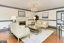 Living room - 10700 HAMPTON RD, FAIRFAX STATION