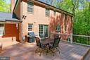 Great Outdoor space accessed off main Level - 10700 HAMPTON RD, FAIRFAX STATION