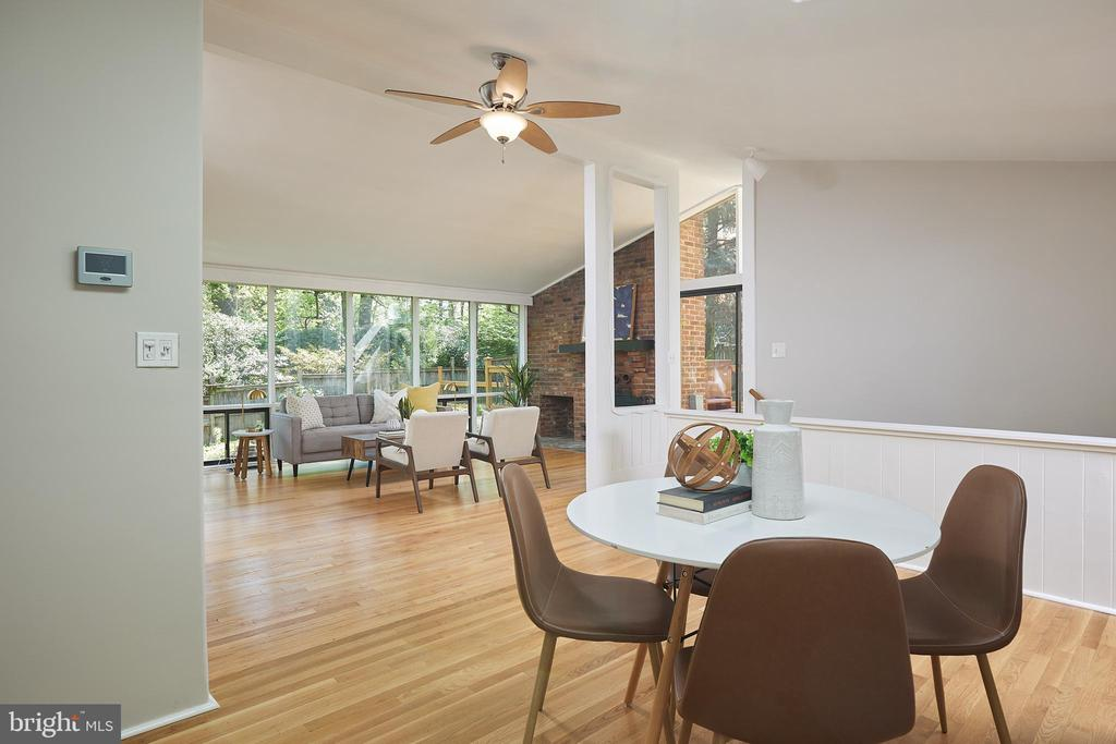 Open living concept - 11530 HIGHVIEW AVE, SILVER SPRING