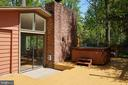 Large hot tub conveys! - 11530 HIGHVIEW AVE, SILVER SPRING