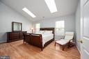Primary bedroom features two skylights 17 X 14. - 4 CATHERINE LN, STAFFORD