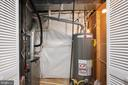 Utility closet, HVAC 2018, Water heater 2016 - 4 CATHERINE LN, STAFFORD