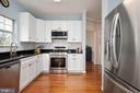 Stainless appliances with built in microwave. - 4 CATHERINE LN, STAFFORD