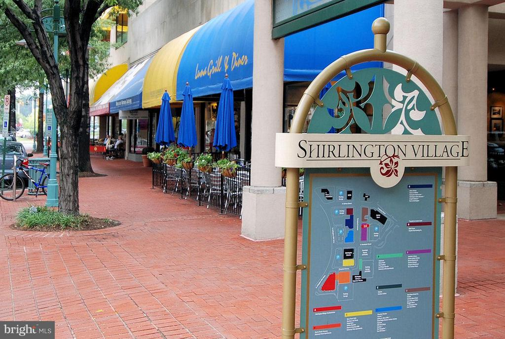 Shops/dining at Shirlington Village - 4839 27TH RD S, ARLINGTON