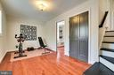 4th bedroom off sitting area - 2238 MERIDIAN ST, FALLS CHURCH