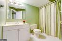 Lower Level Full Bathroom - 20631 BRIDGEPORT CT, STERLING
