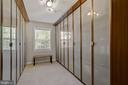 Owner's Suite Custom Closet - 7608 MANOR HOUSE DR, FAIRFAX STATION