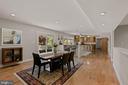 Open Floorplan - 7608 MANOR HOUSE DR, FAIRFAX STATION