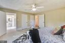 Master bedroom - 3033 KNOLL DR, FALLS CHURCH