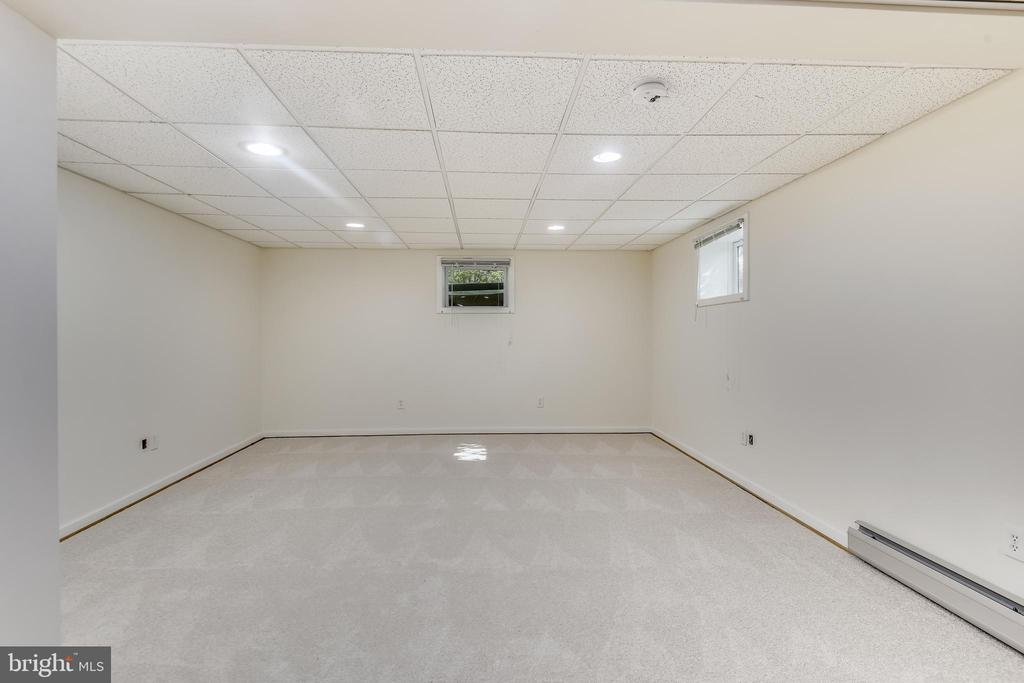 Room on lower level - 3033 KNOLL DR, FALLS CHURCH
