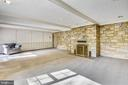 Huge recreation room with fire place - 3033 KNOLL DR, FALLS CHURCH