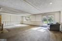 Step out to a  stunning patio - 3033 KNOLL DR, FALLS CHURCH