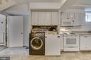 Washer/Dryer on lower level - 3033 KNOLL DR, FALLS CHURCH