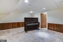 Additional room on lower level - 3033 KNOLL DR, FALLS CHURCH
