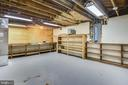 Workshop/storage on lower level - 3033 KNOLL DR, FALLS CHURCH