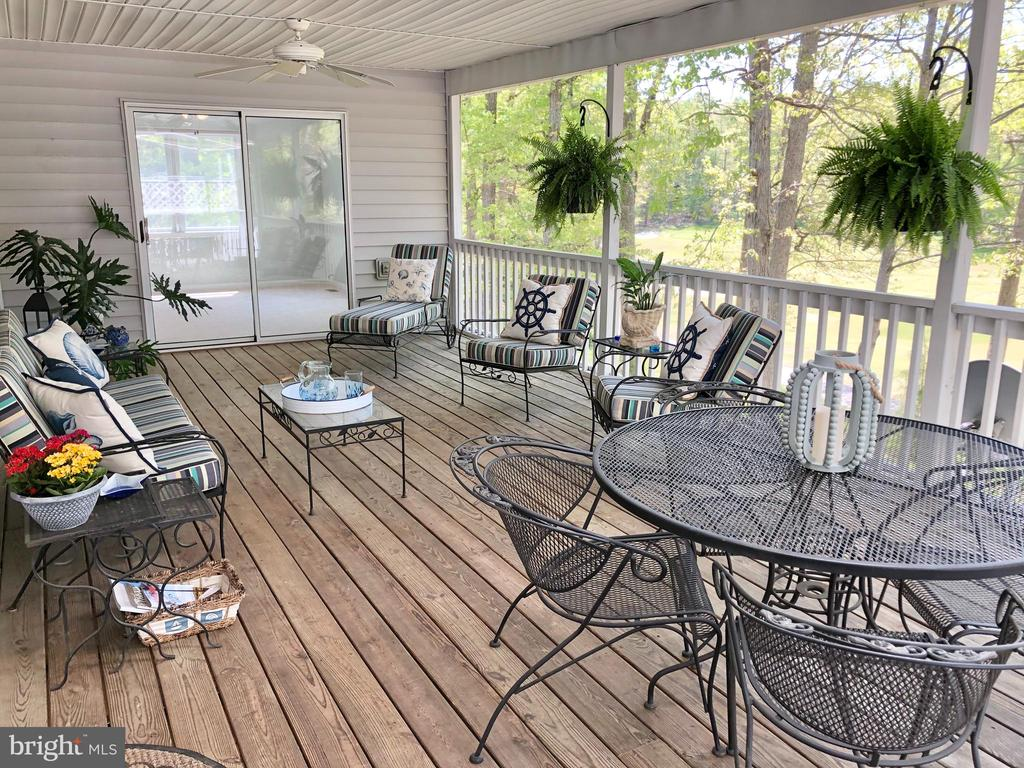 Huge Screen Porch with Golf Views!!! - 222 BIRDIE RD, LOCUST GROVE
