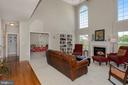 Family room and the Office (or playroom) - 122 BALCH SPRINGS CIR SE, LEESBURG