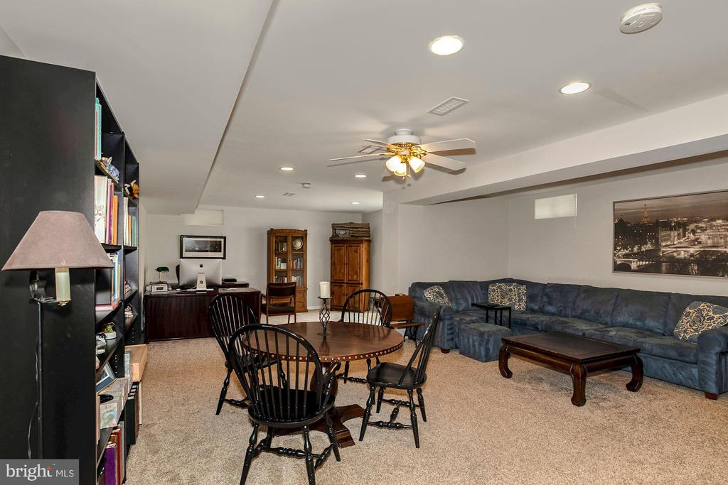 Large Rec room in the basement - 122 BALCH SPRINGS CIR SE, LEESBURG