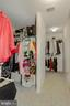 Primary Bedroom Walk-in Closet with two sides - 122 BALCH SPRINGS CIR SE, LEESBURG