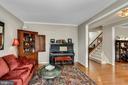 Living Room near Foyer - 122 BALCH SPRINGS CIR SE, LEESBURG