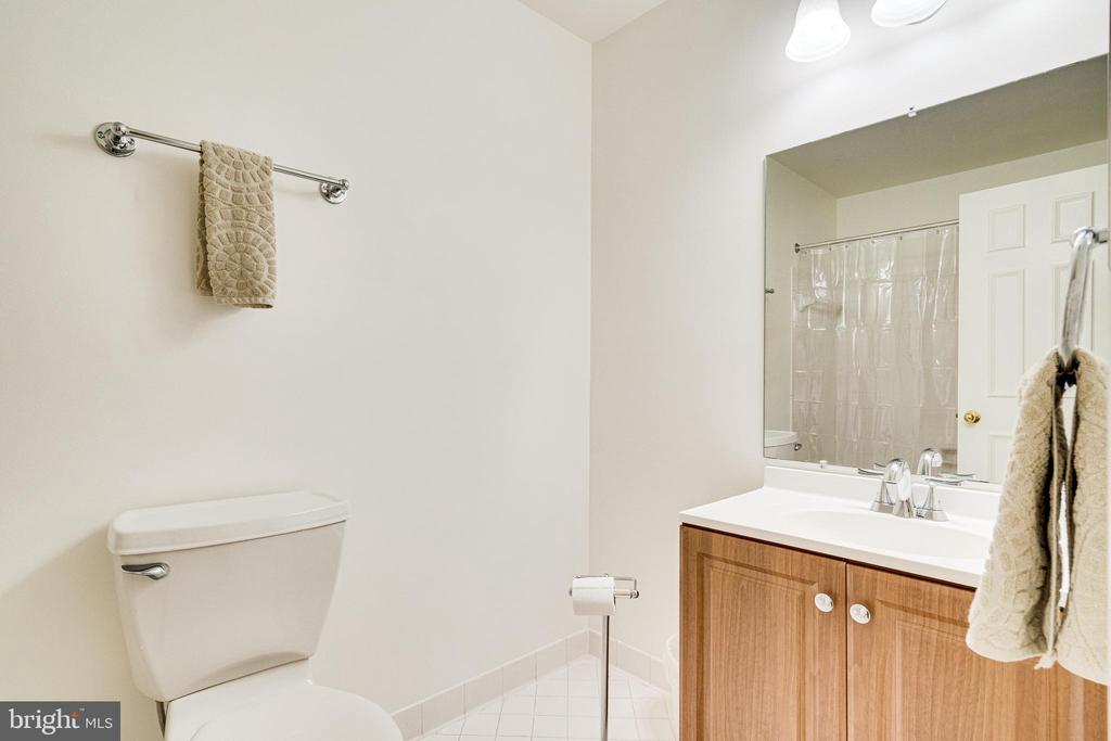 Large hall bath - 6850 WILLIAMSBURG POND CT, FALLS CHURCH