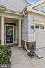 Charming covered entrance - 6293 CULVERHOUSE CT, GAINESVILLE