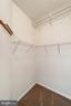 Primary Bedroom  2/2 walk-in closet - 6293 CULVERHOUSE CT, GAINESVILLE