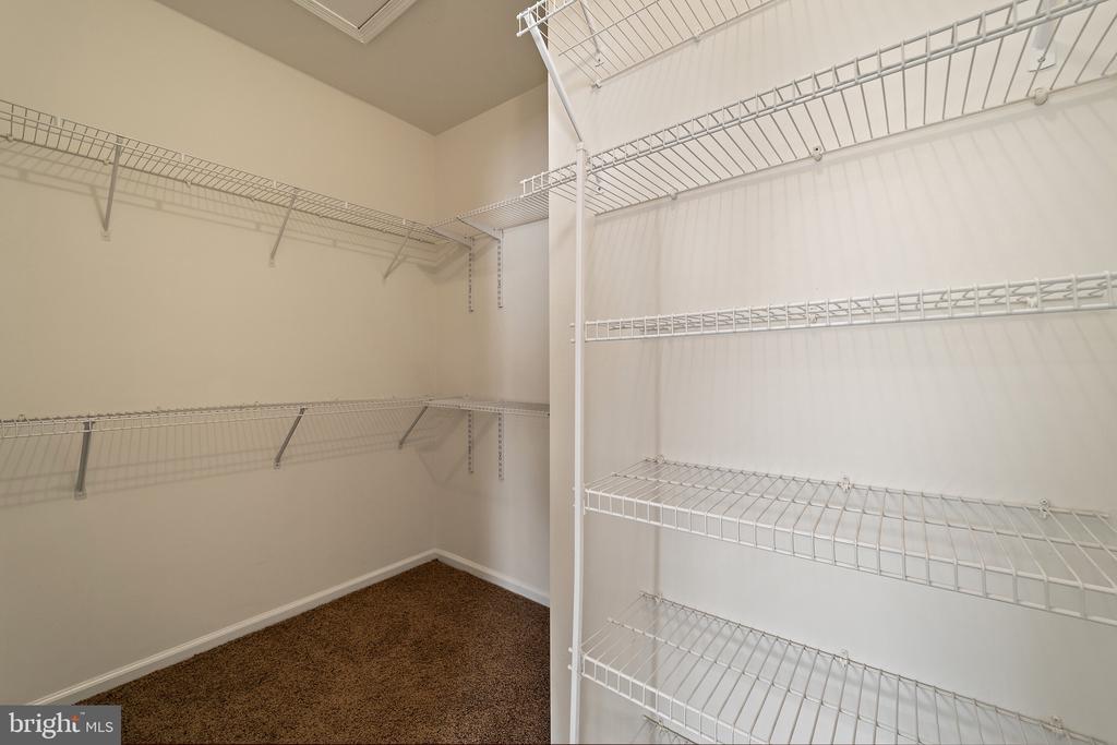 Primary Bedroom  1/2 walk-in closet - 6293 CULVERHOUSE CT, GAINESVILLE