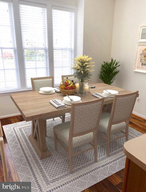 Virtually staged Breakfast area/Eat-in kitchen - 6293 CULVERHOUSE CT, GAINESVILLE