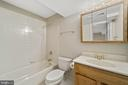 Lower level full bath - 8104 CREEKVIEW DR, SPRINGFIELD