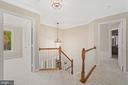 Upper level landing - 8104 CREEKVIEW DR, SPRINGFIELD